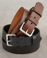 Whether you wear it to the office or a night on the town, you can't go wrong with a versatile belt with this much style.