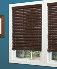 Introduce rich, glossy tones to any setting with these High Gloss window blinds. Each offers a custom, contemporary look for your view.